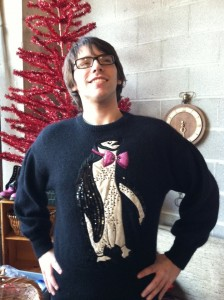 Vintage Garage Chicago Ugly Sweater Contest