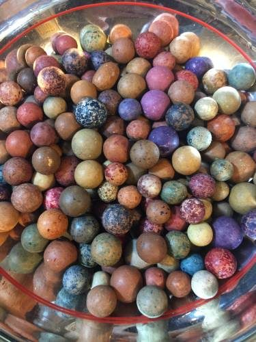 You can find antique clay marbles at this Chicago flea market!