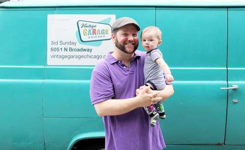 Spend Father's Day with the Vintage Garage in Chicago