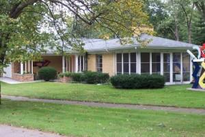 Mid Century Modern Home for Sale, Michigan city, Iindiana
