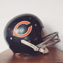 Retro Chicago Bears helmut from Narrative Vintage