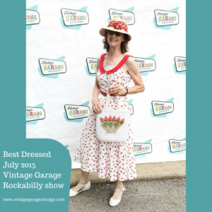Best Dressed Rockabilly woman Vintage Garage Chicago July