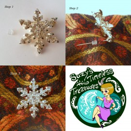How to Safely Wear a Vintage Brooch