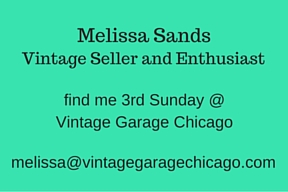 Vintage Garage Chicago business card