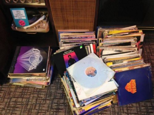 Vintage vinyl Records from Audio Archeology.