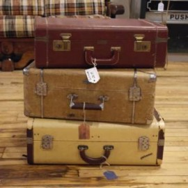 Vintage Garage Chicago oddities on the 3rd sunday of each month vintage luggage