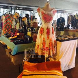 Vintage Garage Chicago Flea Market Vintage Clothing and shopping. July is all about vintage fashion!