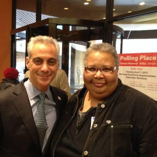 Sylvia's BackRoom with Mayor Rahm Emanuel