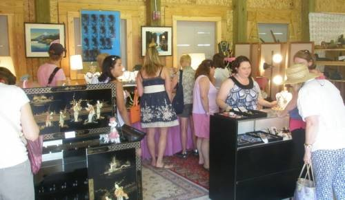 My first vintage market in Northern Michigan many years ago.  How to sell at an antique show or vintage market.