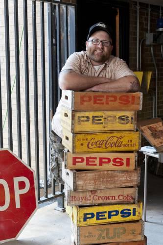 Collector's Agency Paul Degan is a full season dealer at Vintage Garage Chicago.