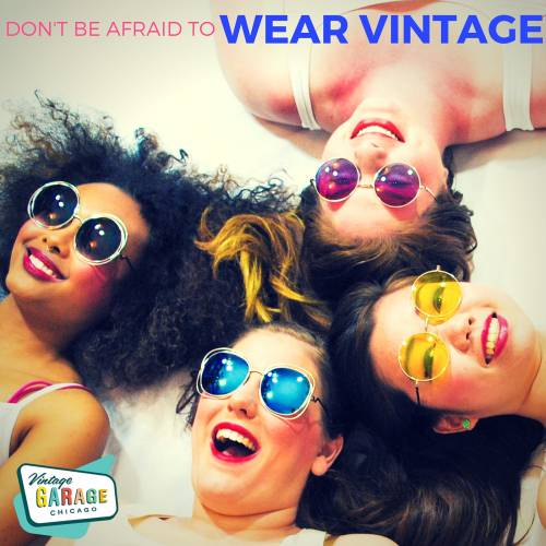 Vintage fashion mistakes at the Vintage Garage!