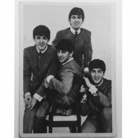 Beatles trading cards from the 1960's