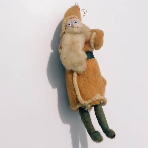 Spun cotton vintage Santa.