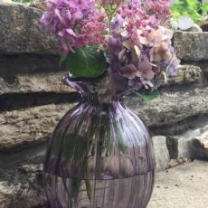 Vintage vases are perfect to have on hand for flowers!