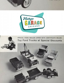 Early 1960's Nylint Sticker Shock at the Ford Dealership