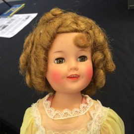 Vintage Garage Chicago appraisals 1940's Shirley Temple Doll by Ideal All original.  VGC's appraisal fair is every 3rd sunday 12pm to 4pm
