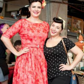 Chicago Street Style. Ruby does the Vintage Garage chicago in July.