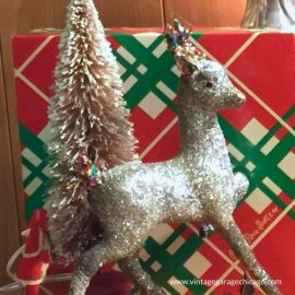 Vintage Christmas Decorations 1950s.Vintage Christmas Decorations A Garage Family Christmas