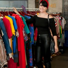 Vintage Garage Chicago Flea Market Vintage Clothing and shopping. July is all about Rockabilly and vintage fashion!