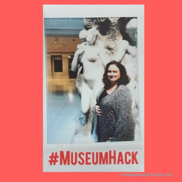 Vintage Garage does #MuseumHack tour at the Chicago Art Institute.  The ultimate antique and vintage adventure!