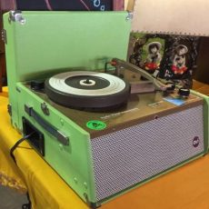 As seen at the Vintage Garage Chicago an Audio Visual Instruments record player