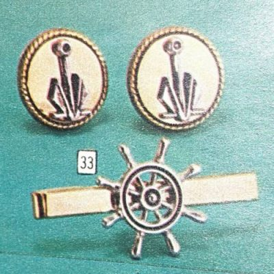 Vintage tie tack and cuff links, as well as other Men's accessories at Vintage Garage Chicago.
