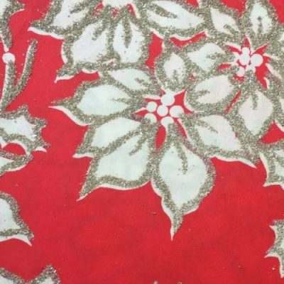 Vintage Christmas Holiday gift wrapping paper