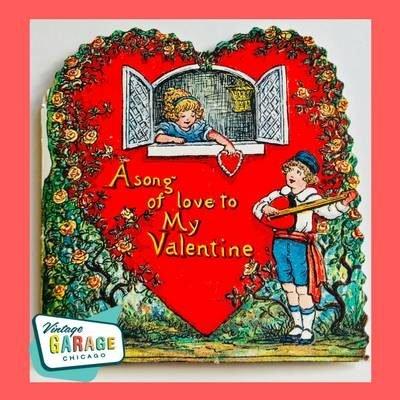 A song of love to MY Valentine. Vintage Garage Chicago.