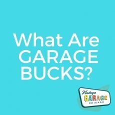 Vintage Garage Bucks to spend on your favorite vintage at Vintage Garage Chicago!