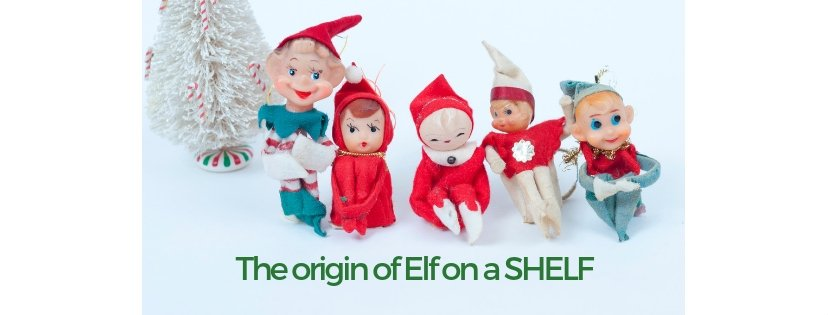 elf on a shelf origin story, Vintage Christmas Pixies!