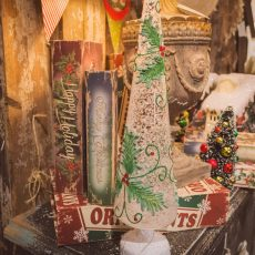 Vintage Garage Chicago Holiday Market Retro Christmas Tree