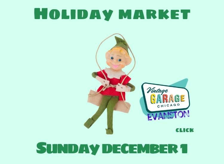 Vintage Garage Holiday Market The Woman's Club of Evanston