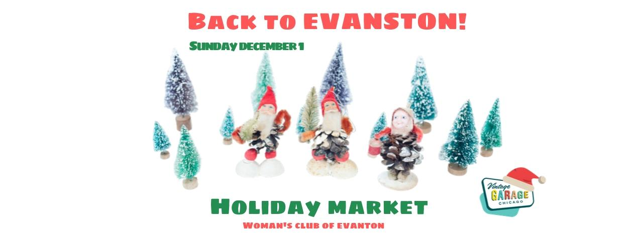Vintage Garage Holiday Market The Woman's Club of Evanston